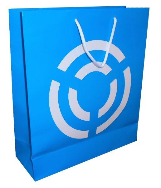 Sacchetto di Carta DELUXE 9 250g Carta - 35X12X50cm - 1 colore