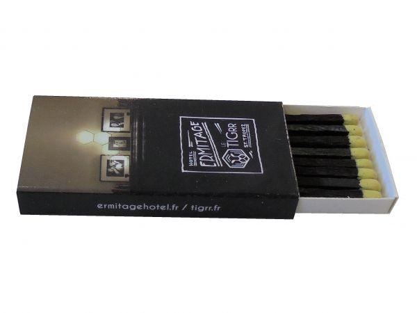 Zündholzschachtel 55x27x7mm Inhalt ca. 8 Zündhölzer