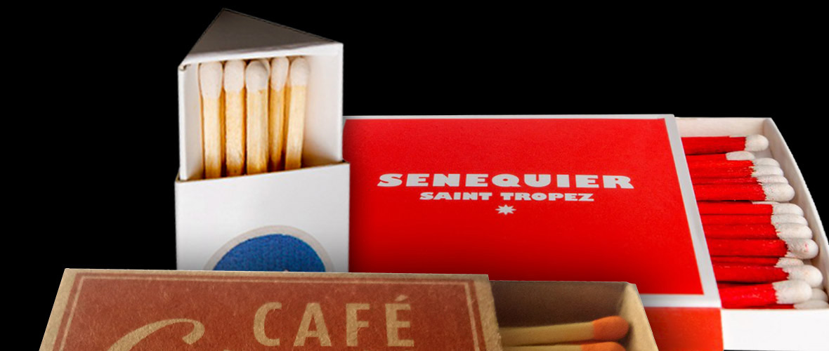 Custom printed matchboxes - High quality and unique advertisement